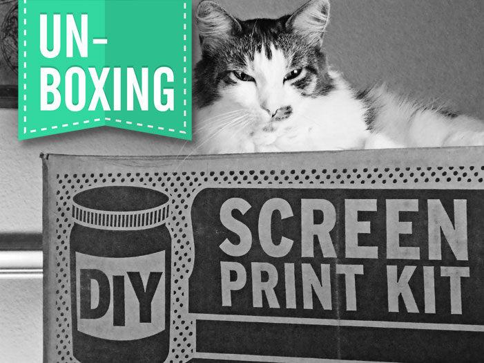 Unboxing the DIY Screen Print Kit | Start Screen Printing Now