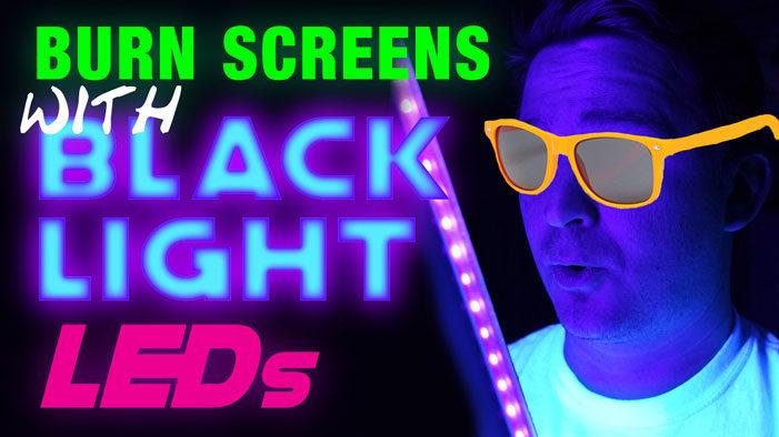 Blacklight LED Exposure Unit